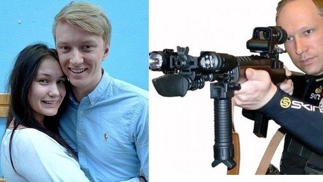 Sofie en Hakon konden zwemmend ontsnappen aan het bloedbad van Anders Breivik.