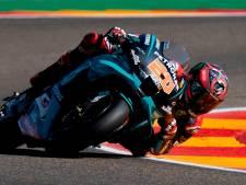 Zware val van motorcoureur Quartararo in vrije training MotoGP
