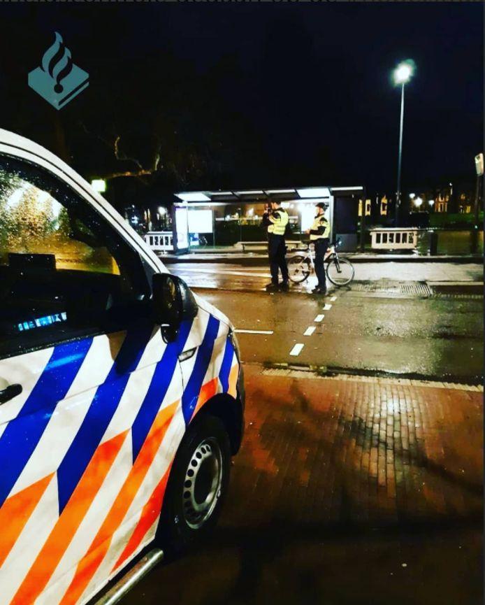 Bij de Nobelstraat reed vannacht een bestuurder twee keer zo hard als toegestaan.