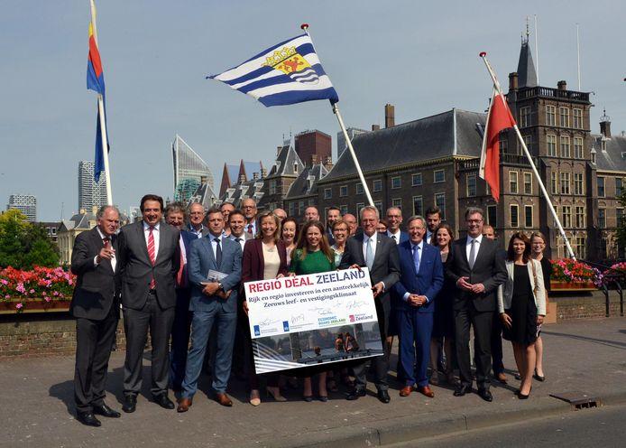 In 2018 werd de 'Regio Deal Zeeland' in Den Haag ondertekend. Om nieuwe overeenkomsten te sluiten moet Zeeland als regio goed beslagen te ijs komen.