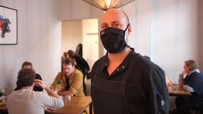 Chef Martijn Defauw.