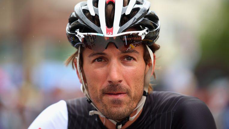 Fabian Cancellara heeft zo zijn mening over de nieuwe regels rond het werelduurrecord... Beeld GETTY