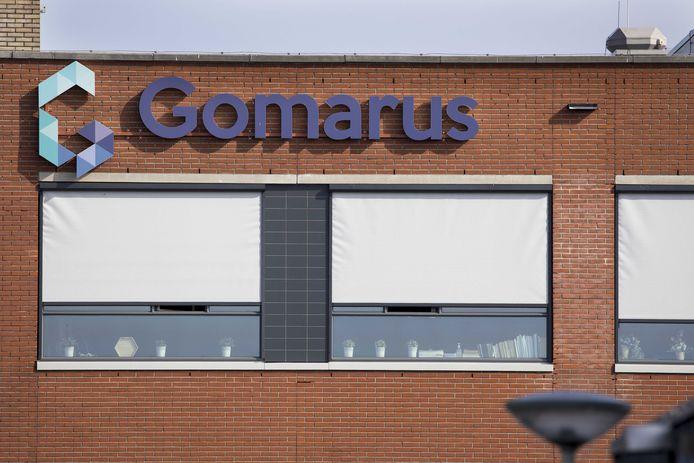 Exterieur van de reformatorische school Gomarus in Gorinchem.