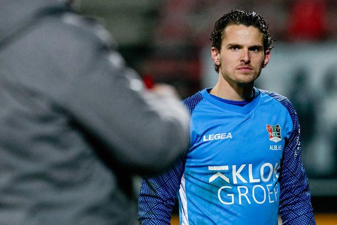 NEC-doelman Norbert Alblas.