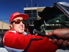 Fernando Alonso hospitalisé après un accident à vélo en Suisse