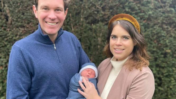 """Britse prinses Eugenie maakt naam van pasgeboren zoontje bekend: """"We stellen je voor aan August!"""""""