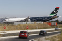Het privévliegtuig van Khadaffi stond jarenlang in Perpignan geparkeerd.