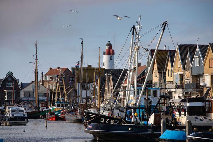 De oude haven van Urk.