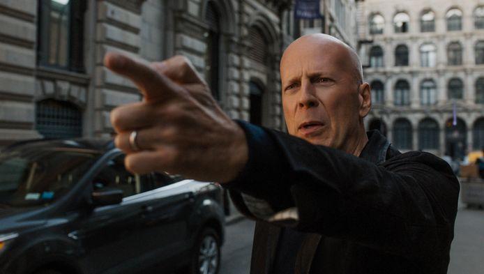 Bruce Willis, de hoofdpersoon in de nieuwe actiefilm Out of Death.