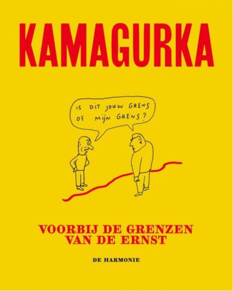 Kamagurka, 'Voorbij de grenzen van de ernst', De Harmonie Beeld