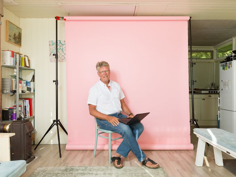 Folkert Jensma, oud-hoofdredacteur van NRC Handelsblad en nu vice-voorzitter van de Nederlandse Vereniging voor Journalisten.  Beeld Ivo van der Bent