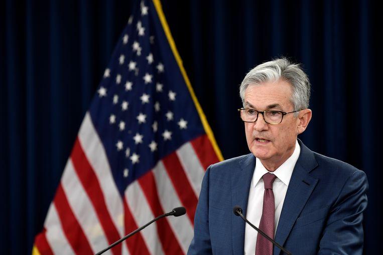 Fed-voorzitter Jerome Powell. Beeld AP