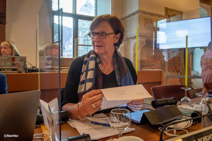 Afscheid van Vera Van Der Borght (Open Vld).