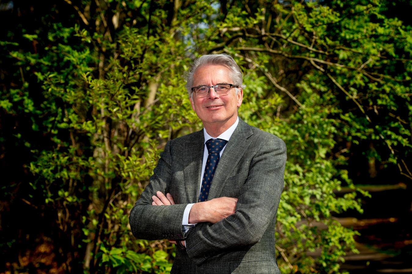 Michel Galjee, bestuursvoorzitter van Gelre ziekenhuizen, moet grote keuzes maken voor de ziekenhuizen in Zutphen en Apeldoorn.