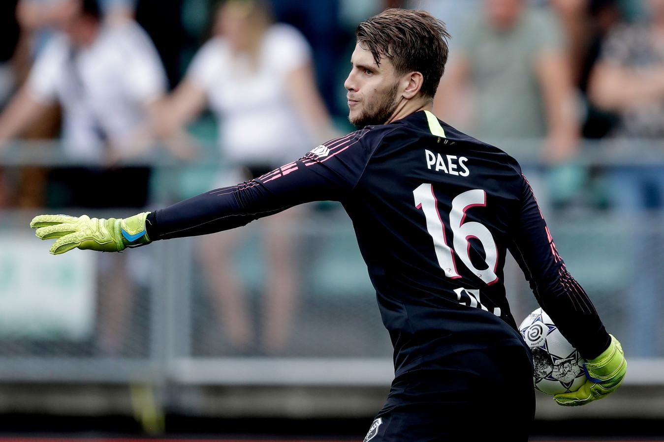 Maarten Paes was de vervanger van de gepasseerde David Jensen.