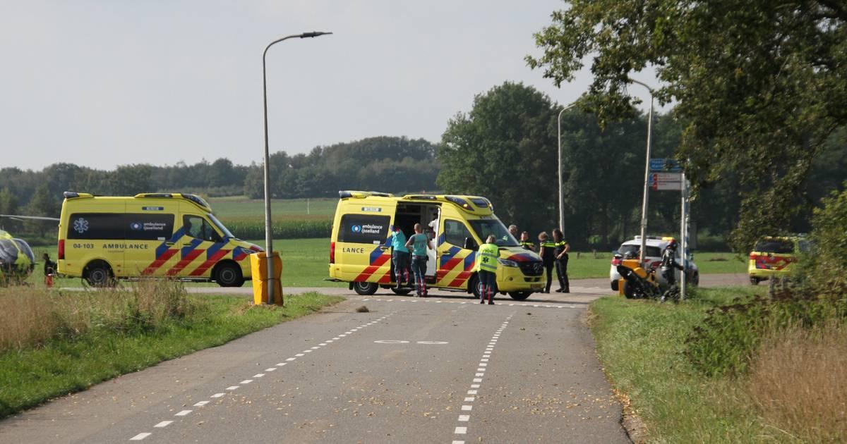 Deelnemer gewond na ongeval tijdens race op Luttenbergring, slachtoffer met spoed naar het ziekenhuis.