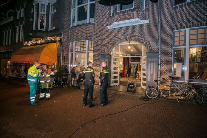 Hulpdiensten paraat na ontploffing van een gasfles in Nijmegen.