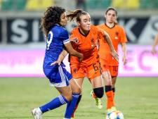 Leeuwinnen eerste in de poule na 'irritante wedstrijd' op Cyprus: 'Het niveau gaat nergens over'