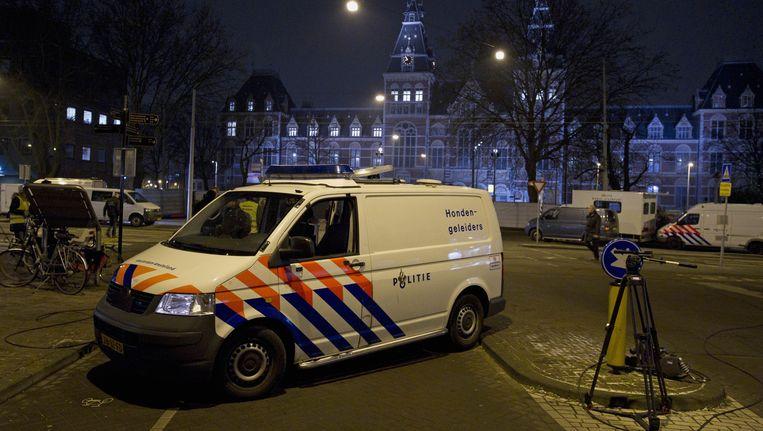 Plek waar 31-jarige Michael Koomen werd neergeschoten Beeld anp