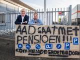 Met pensioen in coronatijd: een elleboog 'voelt toch anders'