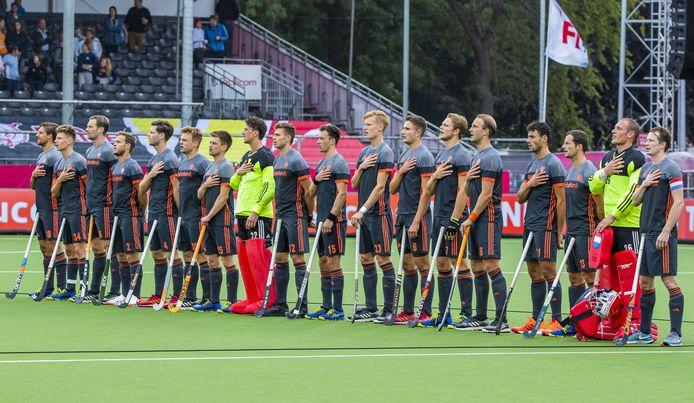 Het Nederlandse team.