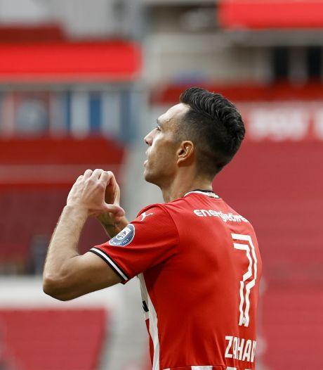 PSV heeft na emotionele middag CL-ticket zo goed als binnen na puntenverlies AZ