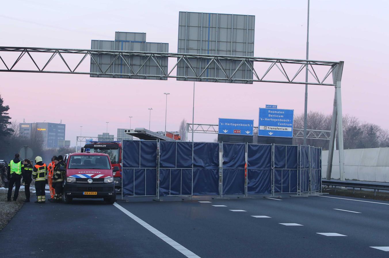 Op de A59 bij Rosmalen kwamen in februari drie Portugezen om het leven bij een ongeval.