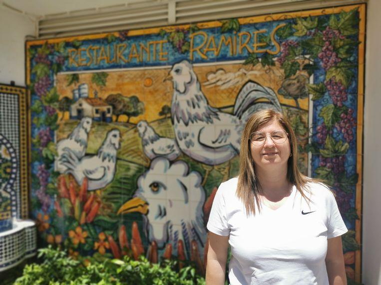 Noelia Cabanita van restaurant Ramires. Beeld Marlies van Leeuwen