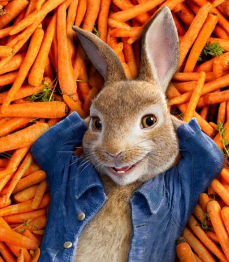 Nieuwe animatiefilm Peter Rabbit bespot mensen die allergisch zijn