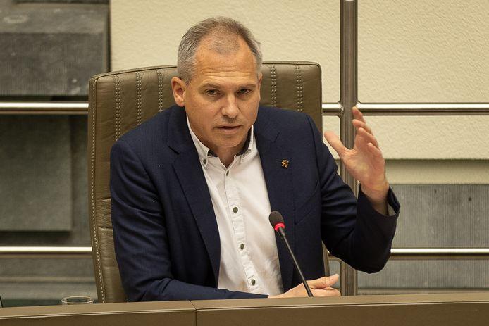 Vlaams minister van Financiën en Begroting Matthias Diependaele.