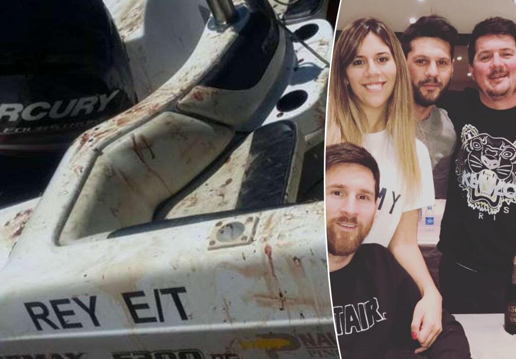 De strafbladen van de Messi's zijn niet meer blank. Rechts herkent u naast Lionel (onder) zijn zus Maria Sol en broers Matías en Rodrigo.