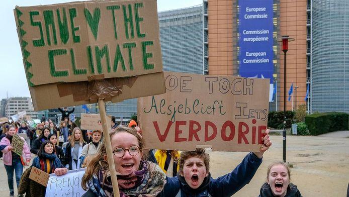 Ils étaient 3.000 à manifester en faveur du climat la semaine dernière