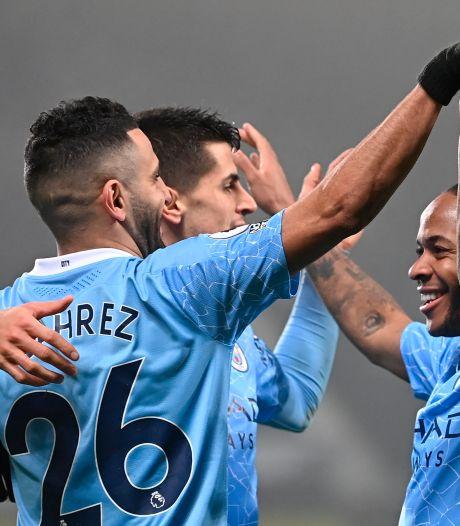 Manchester City maakt indruk en lost stadgenoot United af als koploper