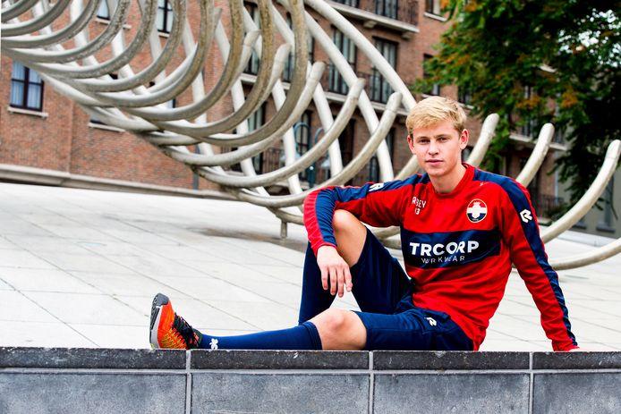 Frenkie de Jong in Kortrijk
