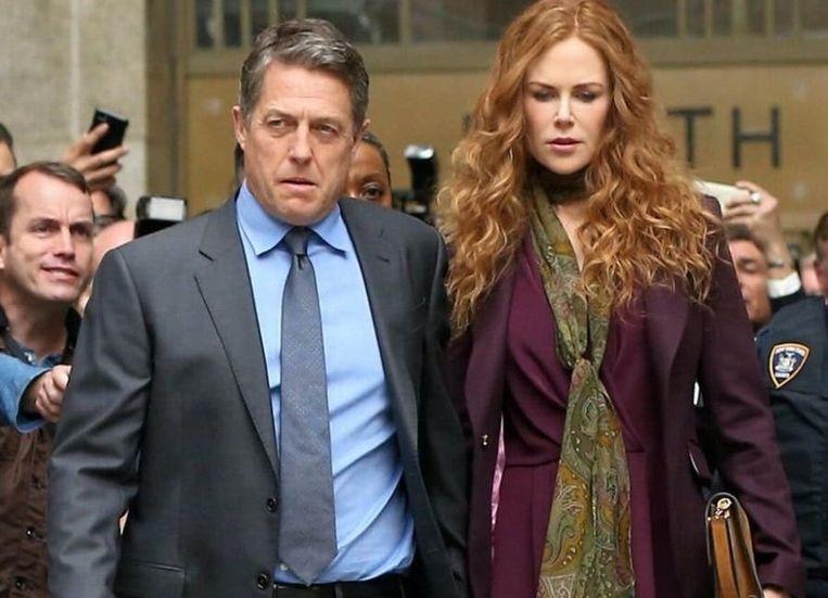 In 'The Undoing' speelt Kidman samen met Hugh Grant.  Beeld rv