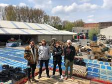 """Oude flessenfabriek in Ledeberg wordt zomerbar: """"Lekker eten en drinken, filmavonden, live concerten, voetbal op groot scherm en zoveel meer"""""""