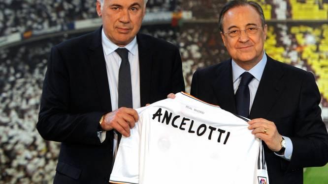 """Nieuwbakken hoofdcoach Ancelotti wil het beste uit Hazard halen bij Real: """"Hij wil hier absoluut slagen"""""""
