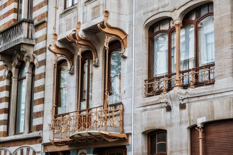 Huis Solvay van Victor Horta. Beeld Tim Dirven