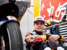 Motorcoureur Collin Veijer valt in positieve zin op in wereldkampioenschap Moto3