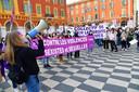Manifestation du Collectif 06 pour les droits des Femmes 06 (Nice, 6 mars 2021)