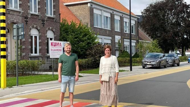 """Kleurrijke zebrapaden in schoolomgevingen: """"Oversteken wordt zo veiliger"""""""
