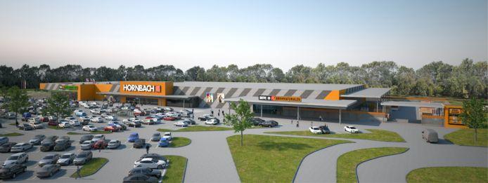 Nieuwe vestiging Hornbach Apeldoorn over drie weken open.