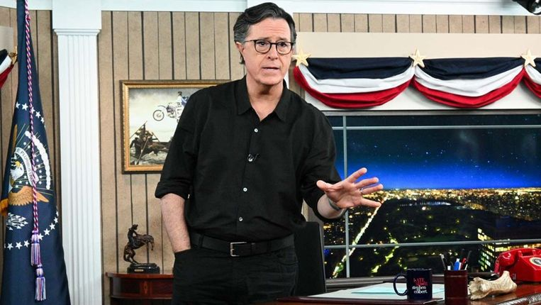 Stephen Colbert Beeld YouTube @The Late Show with Stephen Colbert