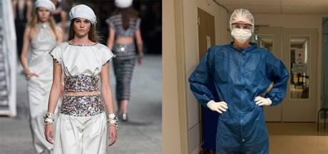 Topmodel Margriet (21) verruilt catwalk in wereldsteden voor corona-afdeling in Emmeloord: 'Ik blijf een nuchtere meid uit de polder'