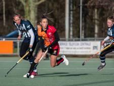 Hockeysters Oranje-Rood gaan met gelijkspel de winterstop in