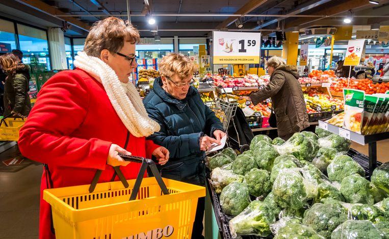 Jumbo, de op een na grootste supermarktketen in Nederland, bungelt onderaan de duurzaamheidslijst. Beeld Hollandse Hoogte /  ANP