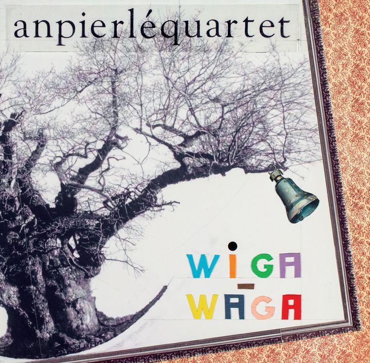 Het eigenzinnige artwork van 'Wiga Waga' is van de hand van Patrick Van Caekenbergh. Beeld RV