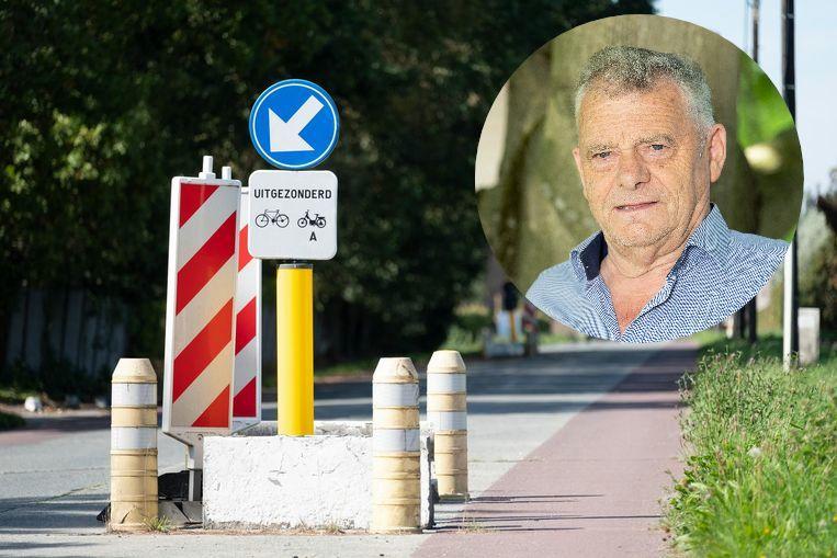Gemeenteraadslid Jos Ceulemand heeft een hekel aan de verkeersremmers in de Lombaardstraat. Dat laat hij tijdens raadszittingen ook voortdurend blijken.