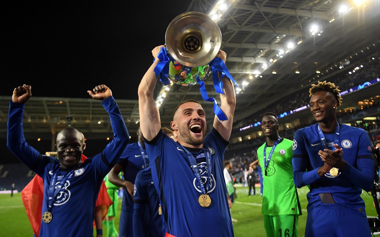 Mateo Kovacic won zaterdagavond voor de vierde keer de Champions League. De Kroatische middenvelder speelde slechts 17 minuten in de vier finales.