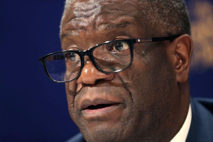 De Congolese arts Denis Mukwege kreeg in 2019 de Nobelprijs voor de Vrede. Archiefbeeld.